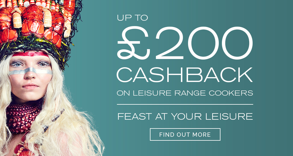 Up to £200 Cashback on Leisure Range Cookers