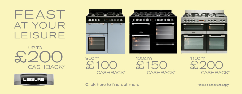 Up to £200 cashback