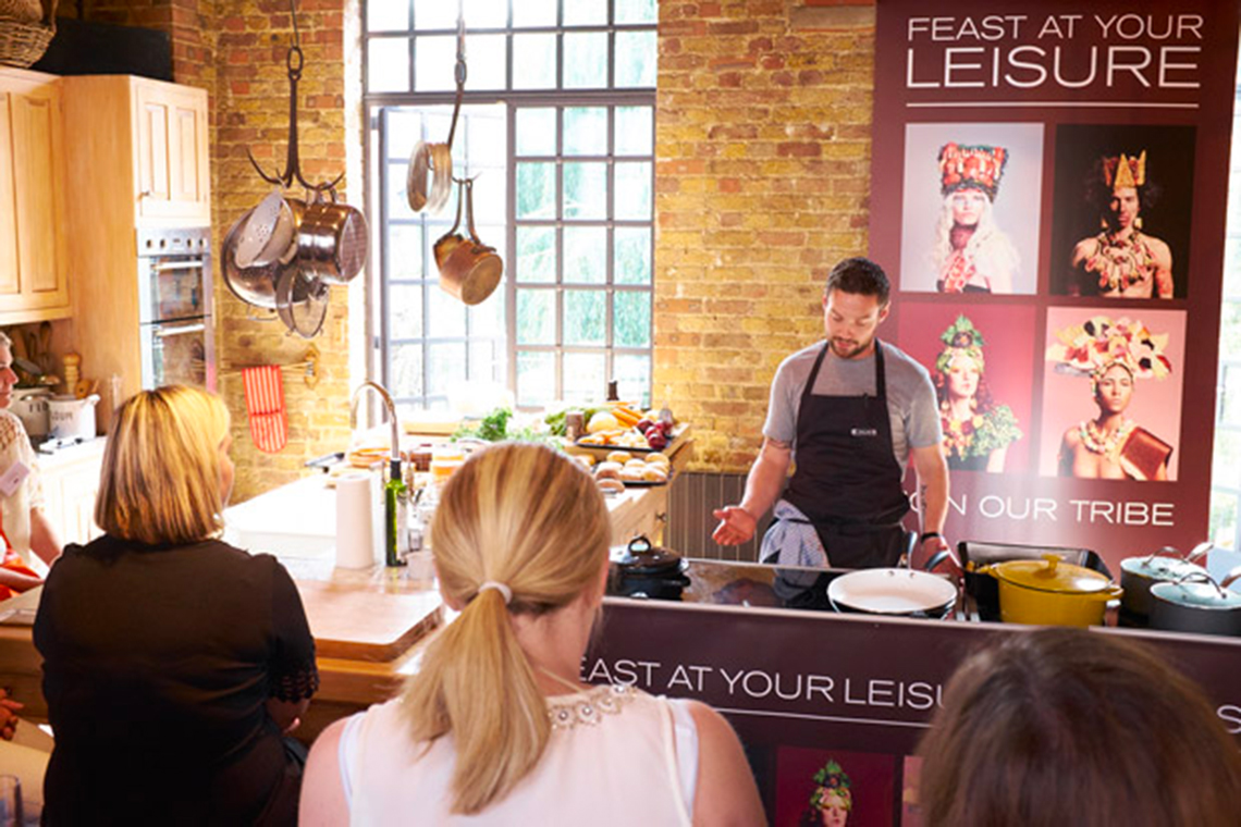 FEAST AT YOUR LEISURE WITH DAN DOHERTY