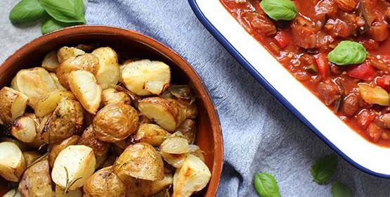 Rosemary Roasted New Potatoes