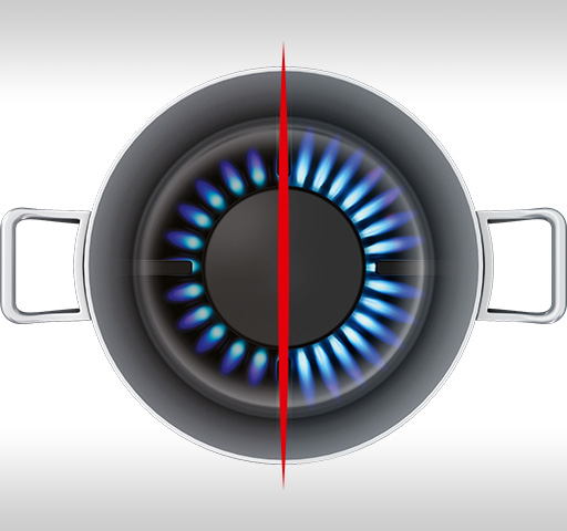 High Efficiency Gas Burners