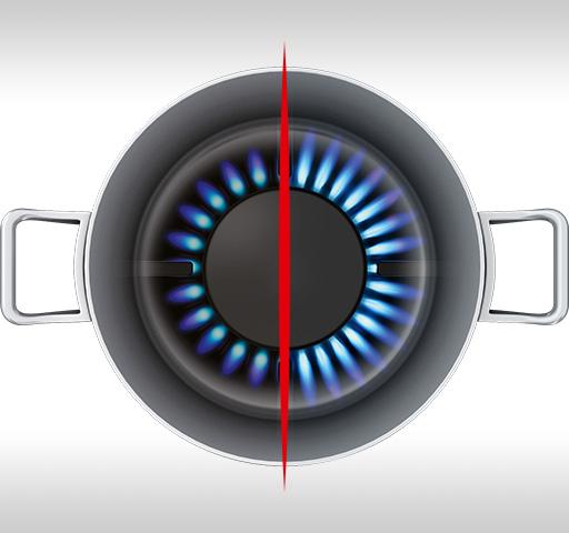 High Efficiency Gas Burners