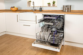Make washing up disappear with our new dishwashers