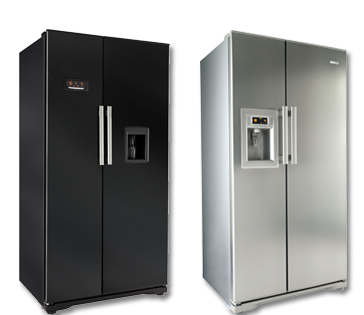 Beko, the leading appliance manufacturer, is responding to consumer demand for large capacities and sleek American styling, by introducing two new models to its side-by-side refrigeration range