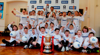 Beko Kicks off its tour of schools with The FA Cup