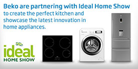 Beko are partnering with Ideal Home Show to create the perfect kitchen and showcase the latest innovation in home appliances