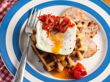 Gluten Free Savoury Waffles