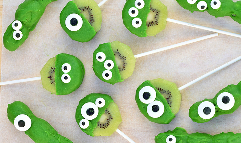 green kiwi monster fruit pops