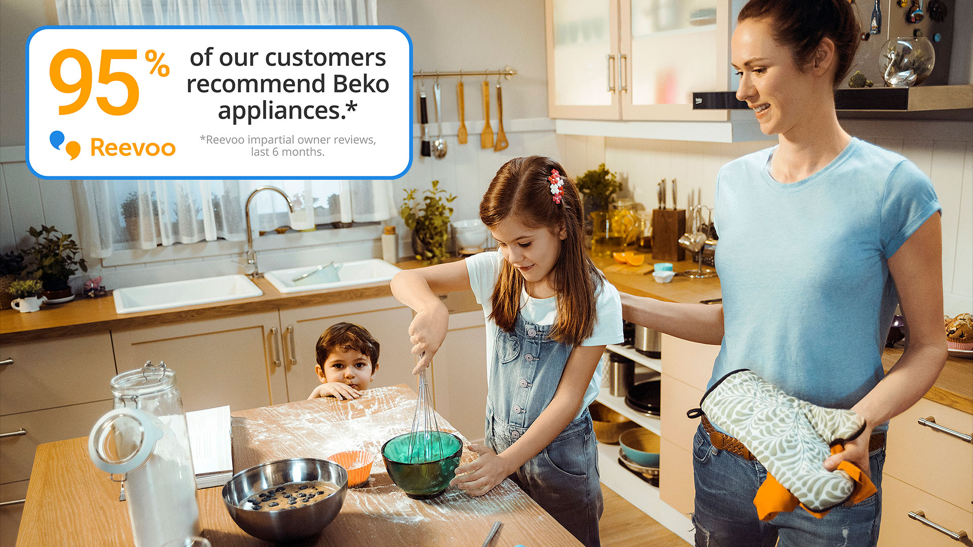 Beko Product Reviews | Kitchen Appliance Reviews | Beko UK