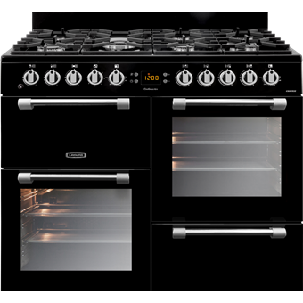 Leisure Cookmaster 100cm CK100F232K Black Cooker