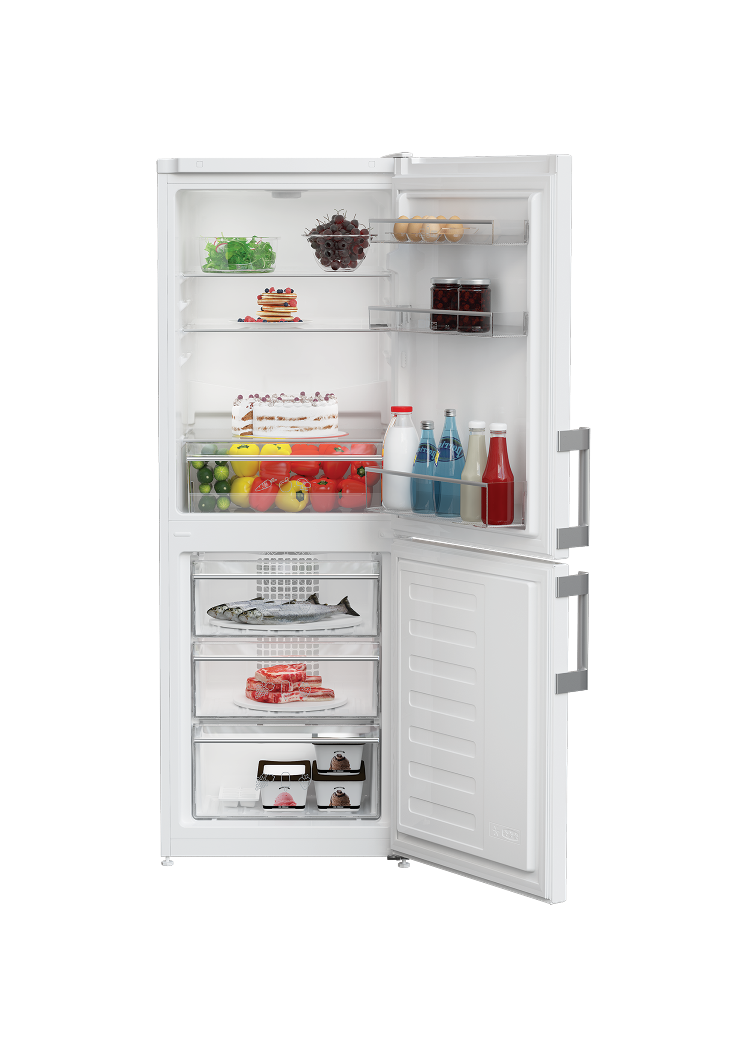 Kgm4530 Frost Free Combi Fridge Freezer