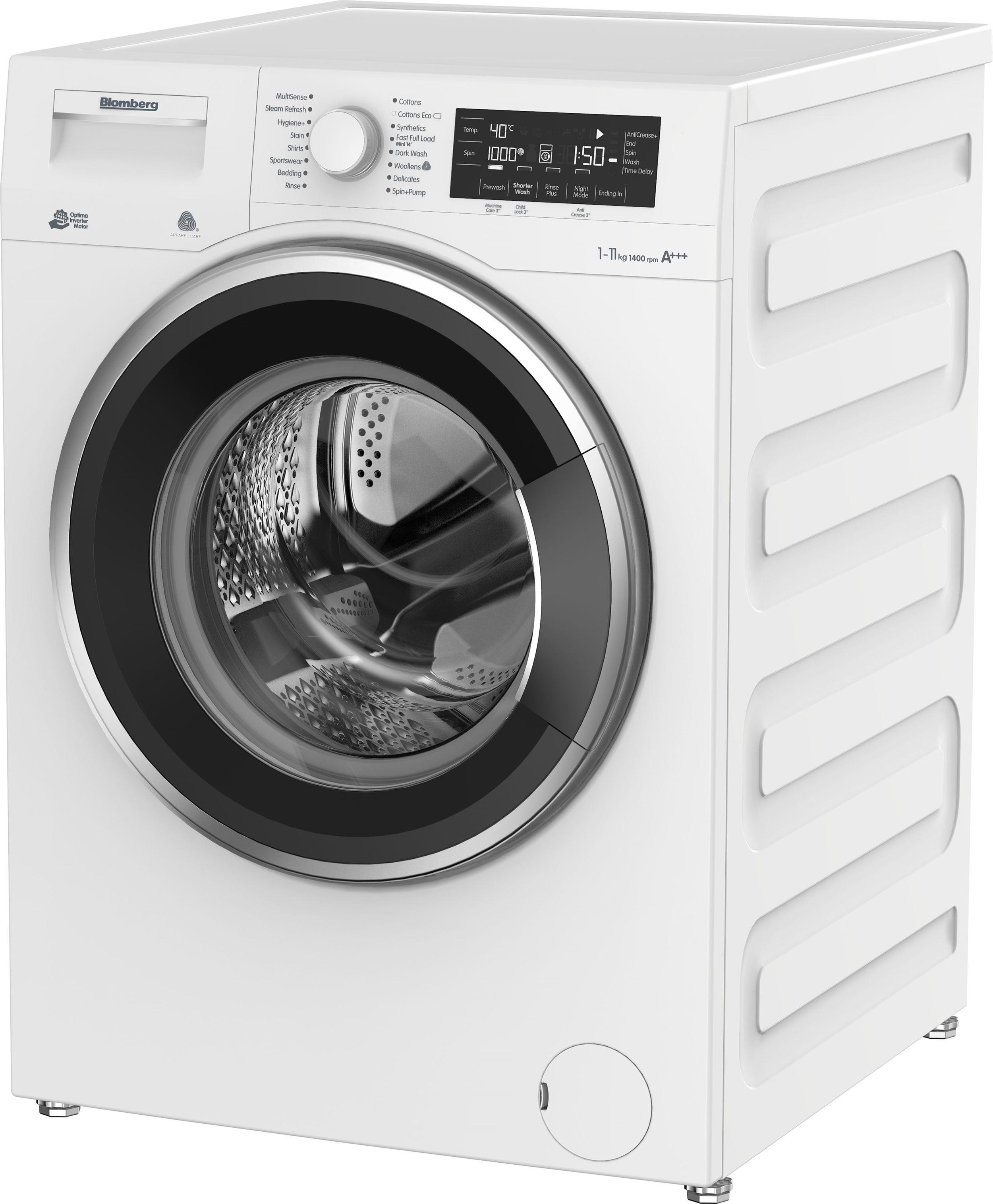 LWF411452A 11kg 1400rpm Washing Machine Steam Refresh on Washing Machine  id=77380