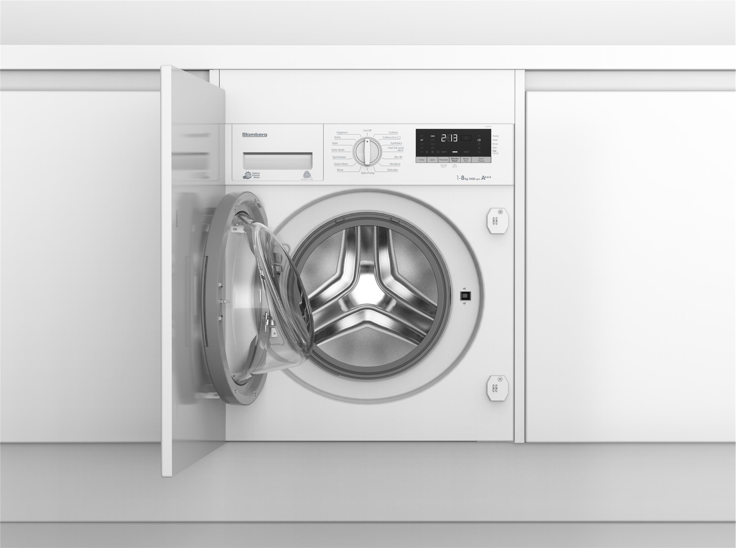 LWI28441 Integrated 8kg 1400rpm washing machine with A ...