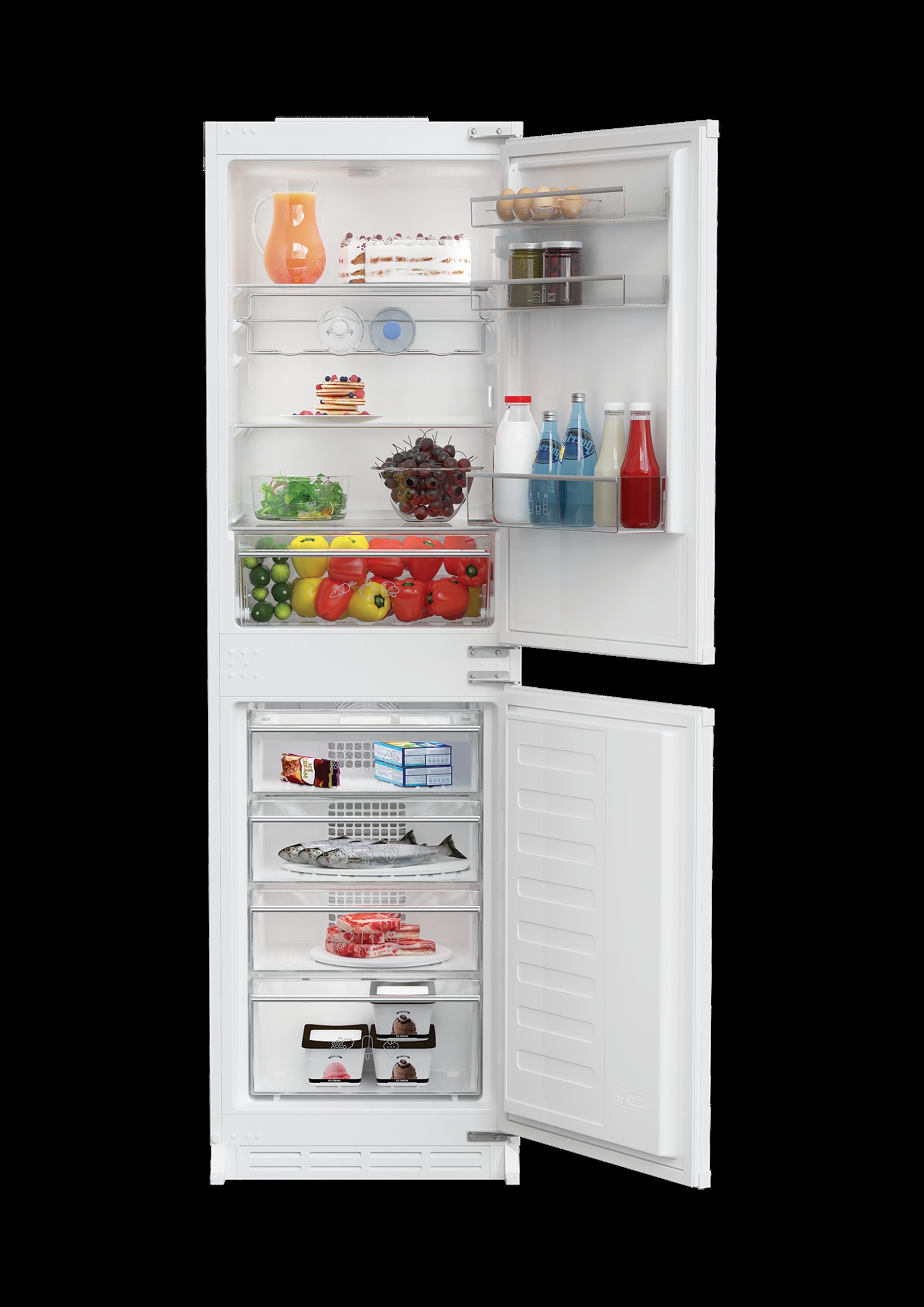 knm4561i integrated 50 50 frost free combi fridge freezer. Black Bedroom Furniture Sets. Home Design Ideas