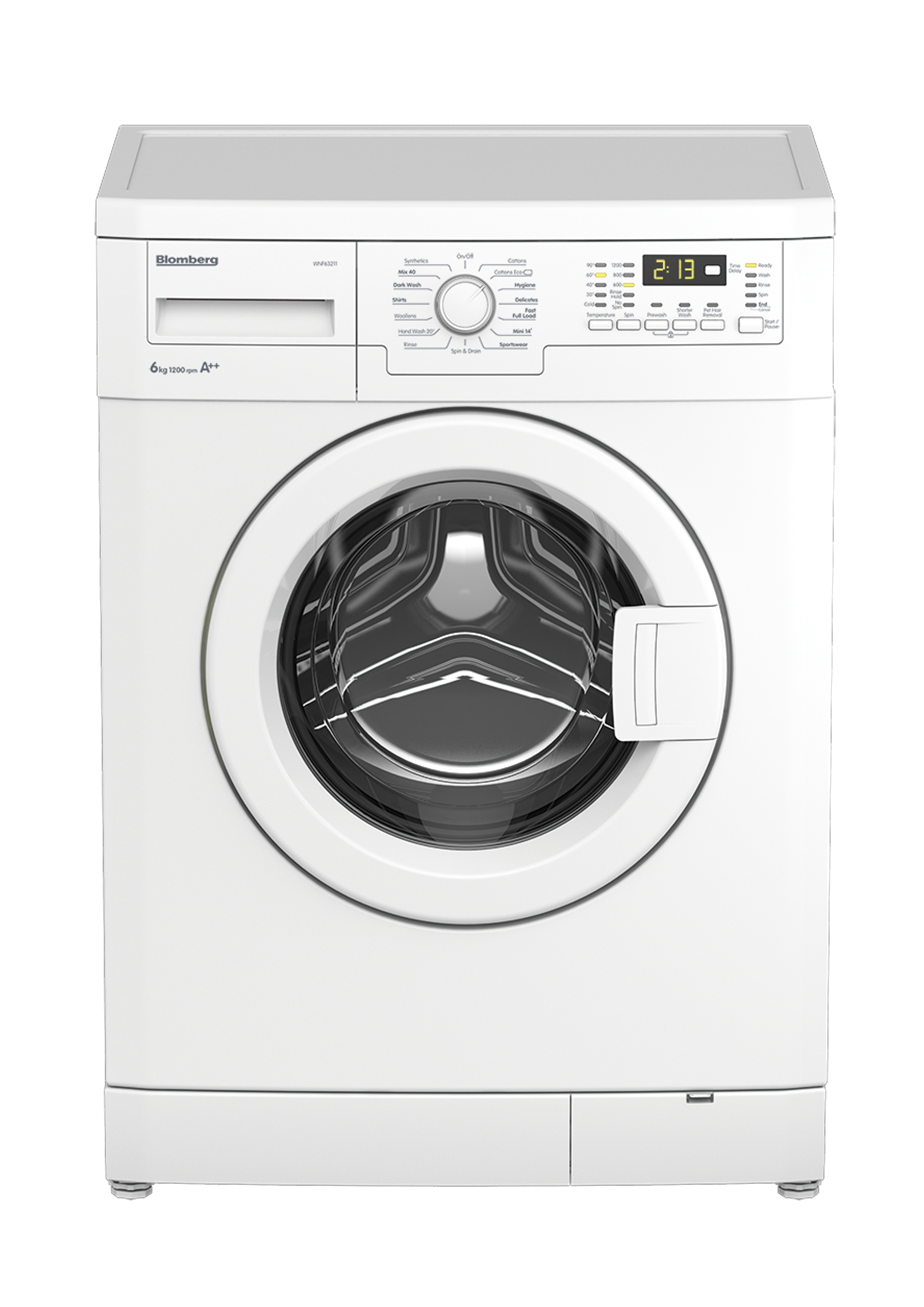 WNF63211 6kg 1200rpm Washing Machine with A++ Energy Rating on Washing Machine  id=22379