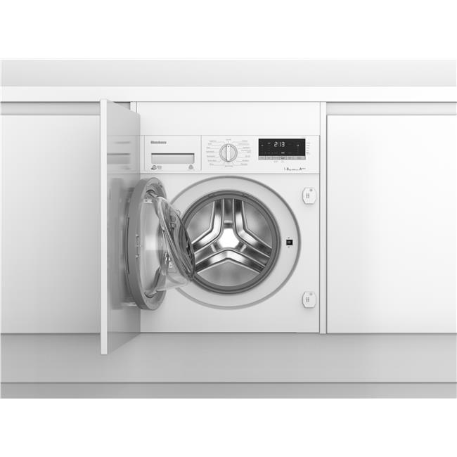 LWI28441 Integrated 8kg 1400rpm washing machine with A+++ energy rating