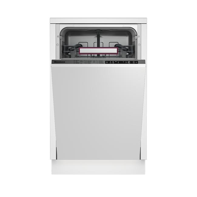 LDVS2284 Slim Size Integrated Dishwasher with A++ energy rating