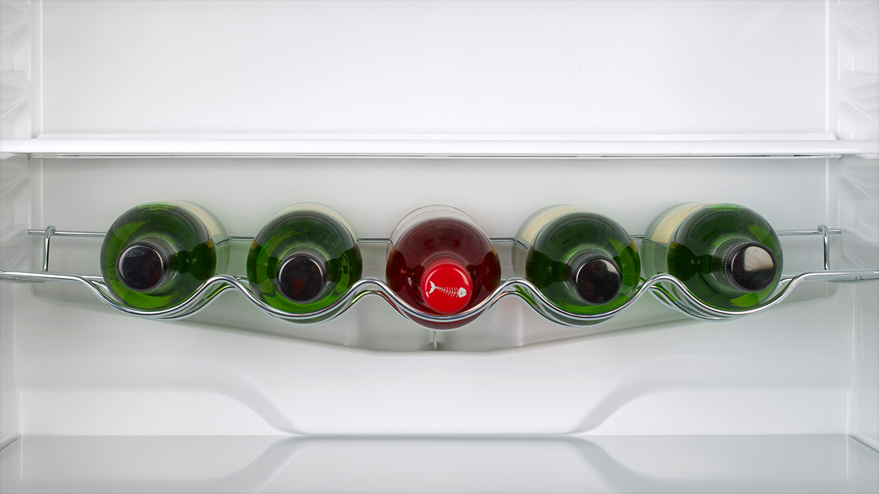 Chrome Wire Wine Rack