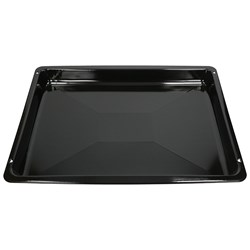 Buy BLACK ENAMELED ST TRAY(W_462xD_365xH_39)