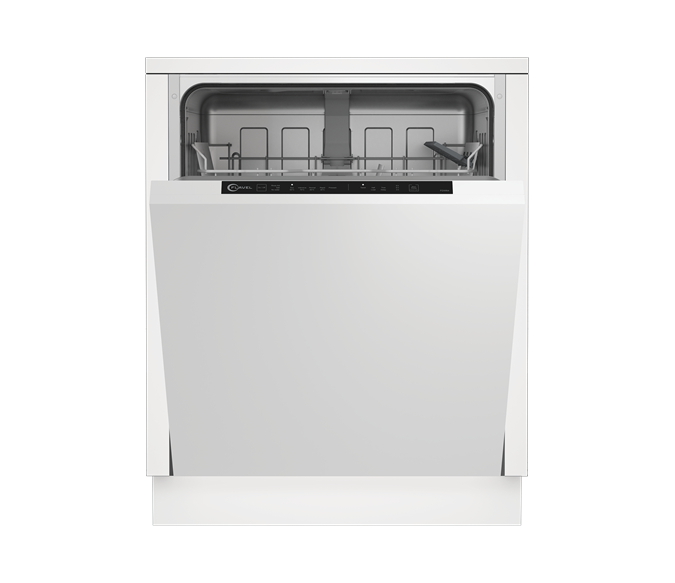 Full Size Integrated Dishwasher with Half Load