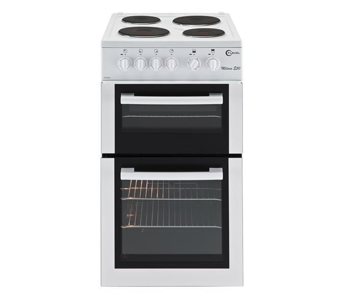 Single oven with separate grill