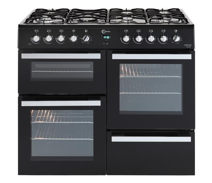 7 burner dual fuel range cooker