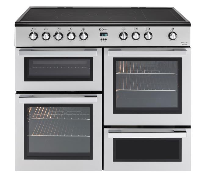 Double oven Electric range cooker