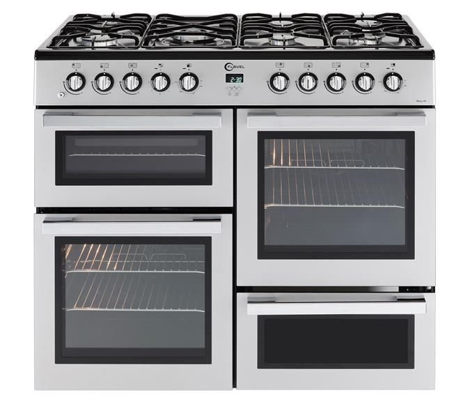 7 burner dual fuel range cooker