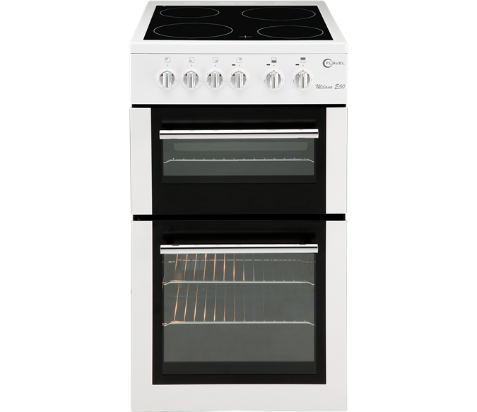 Fan oven with separate grill