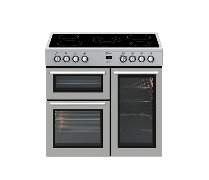 5 zone electric rangecooker