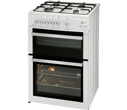 ML61ND 60cm Twin Cavity Gas Cooker