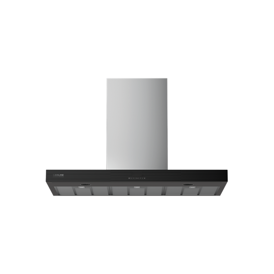 60cm Chimney Hood with Full Glass Front Control Panel