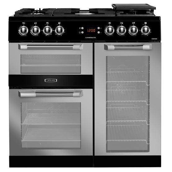 90cm Cuisinemaster dual fuel range cooker