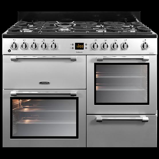 110cm Cookmaster dual fuel range cooker