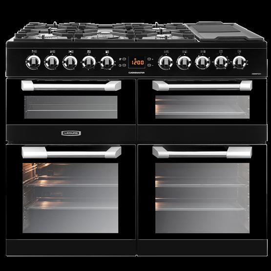 100cm Cuisinemaster dual fuel range cooker