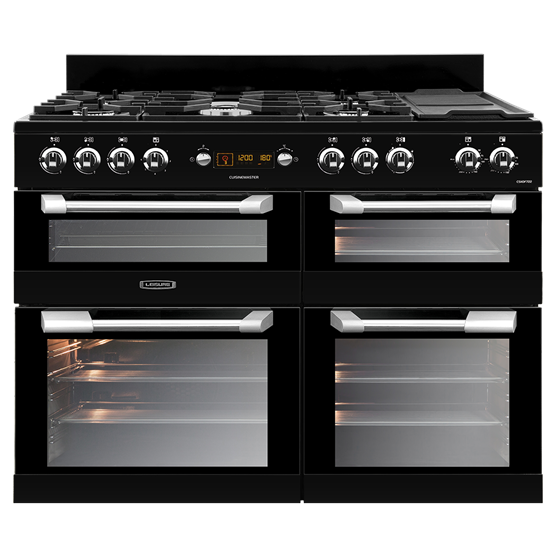 110cm Cuisinemaster dual fuel range cooker