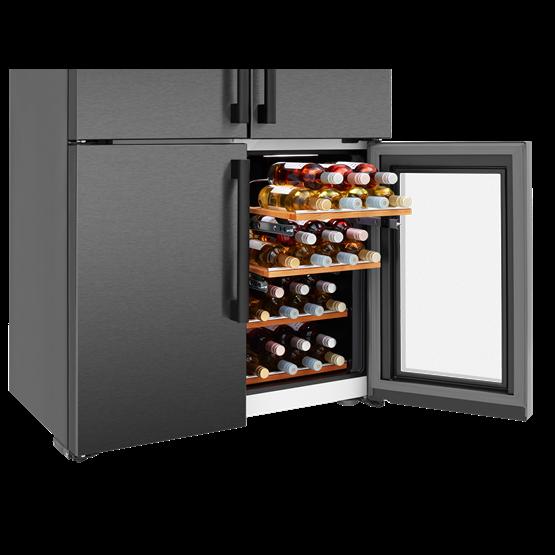 american style fridge freezer wine cooler lm16251w. Black Bedroom Furniture Sets. Home Design Ideas