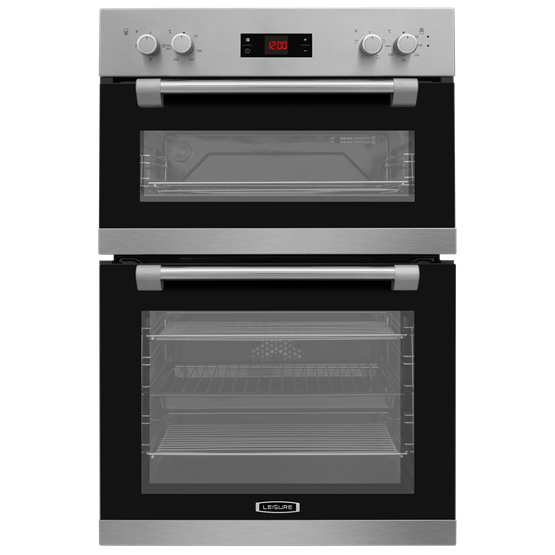 90cm Double Oven with Programmable Touch Control LED Display