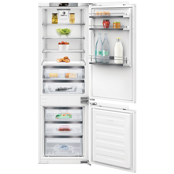 Built-in No Frost Combi Fridge Freezer