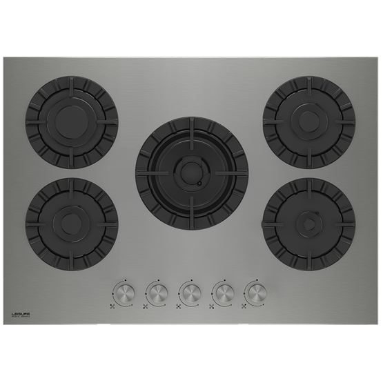 Gas Hob with Double Ring Burners