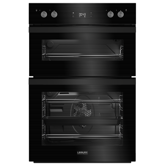 90cm Double MULTI-FUNCTIONAL oven with Led timer