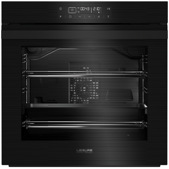 60cm single oven with full touch control led timer
