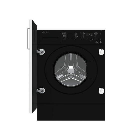 Stylish black colour with white digital display Large 8/5kg  - saving time and money by doing less loads Large door opening – for easy loading and unloading